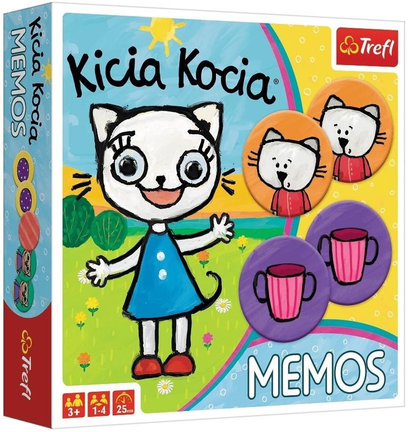Trefl Memos Kicia Kocia
