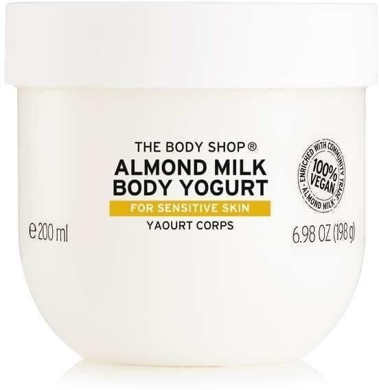 The Body Shop Jogurt do ciałaMLEKO Migdałowe 200ml