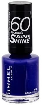 Rimmel London London 60 Seconds Super Shine 828 Danny Boy Blue! W 8 ml e3614220617268