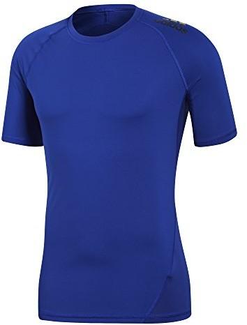 Adidas męski Alpha Skin Sport T-Shirt, niebieski, s CD7170