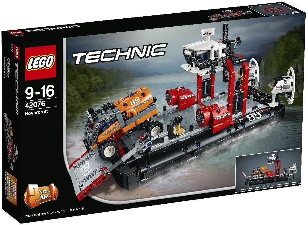 LEGO TECHNIC, klocki Poduszkowiec 42076