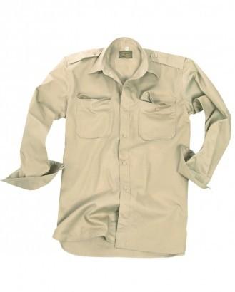 Mil-Tec Koszula tropikalna z długim rękawem 10933004 Koszula tropikalna z długim rękawem 10933004 rozm. M