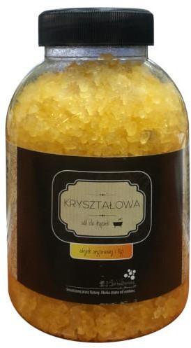 Bochneris Sp. z o.o. Sól Bocheńska kryształowa olejek arganowy i figi 1200 g 1144454