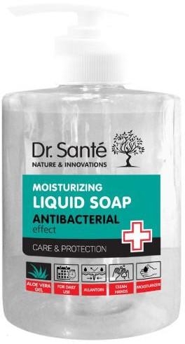 Elfa Pharm Dr Sante nawilżające mydło antybakteryjne w płynie z aloesem 500 ml 7081369