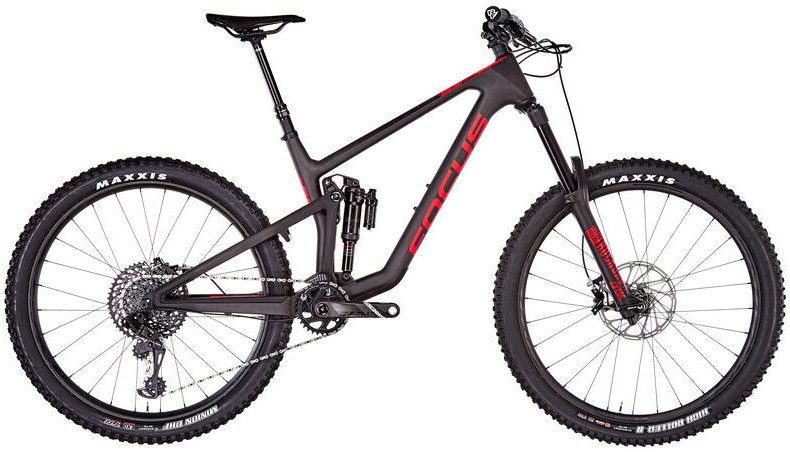 Focus Sam 9.9, black/red L 46cm (27.5