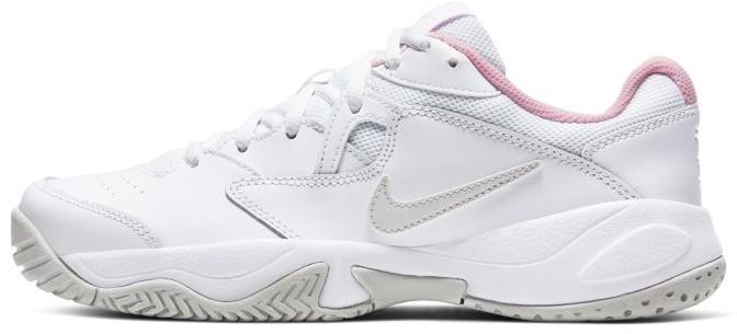 Nike Damskie buty do tenisa na twarde korty NikeCourt Lite 2 - Biel AR8838-104
