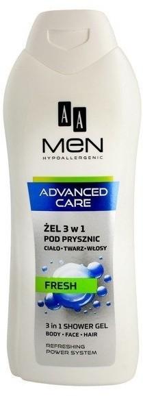 Oceanic Men Advanced Care Shower Gel 3in1 Fresh 400ml