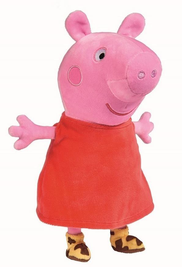 Simba Toys Świnka Peppa Maskotka pluszowa Peppa z dźwiękiem