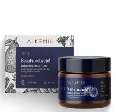 alkemie Biomimetyczny peeling enzymatyczny - Beauty activate! 60ml Alkemie