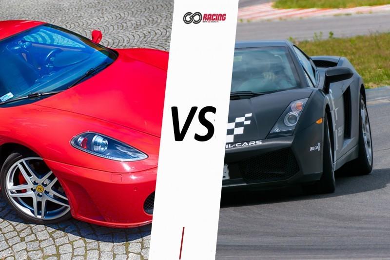 go racing Lamborghini Gallardo vs Ferrari F430 : Ilość okrążeń - 4, Tor - Tor Olsztyn, Usiądziesz jako - Kierowca