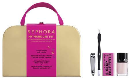 SEPHORA COLLECTION My manicure set - 4 niezbędne produkty do manicure