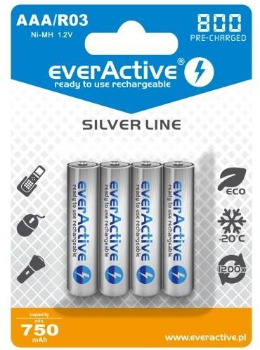 EVERACTIVE AKUMULATORKI AAA 800 MAH EVHRL03-800