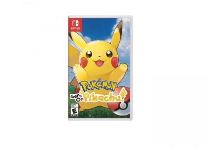 Pokemon Let's Go Pikachu! NSWITCH