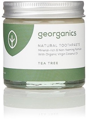 Georganics Georganics, mineralna pasta do zębów w słoiku Tea Tree, 60 ml