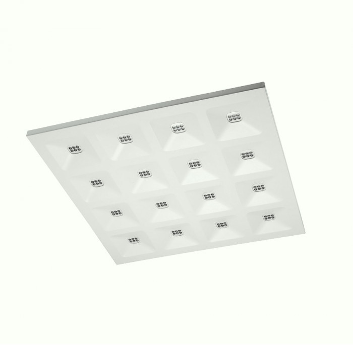 GTV Panel LED natynkowy 34W TIGER SLIM barwa neutralna LD-TIG34W60-NB