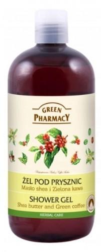 Green Pharmacy Pharm ŻEL POD PRYSZNIC SHEA ZIELONA KAWA GREEN PHARMACY 500 ml C914-646B3
