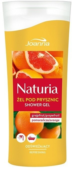 Joanna Naturia Refreshing Shower Gel Grejfrut & Pomarańcza 100ml