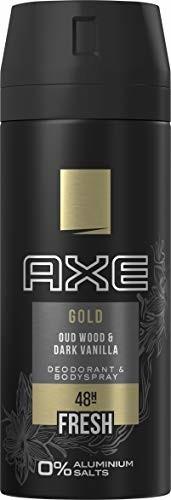 Axe dezodorant Gold bez soli aluminiowej, 150 ml, 3 sztuki w opakowaniu (3 x 150 ml)