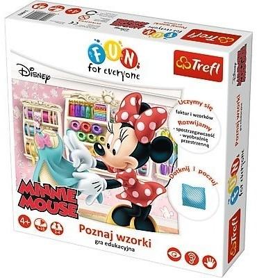 Trefl , For Fun Everyone, Minnie Mouse, Poznaj Kształty, Gra Edukacyjna