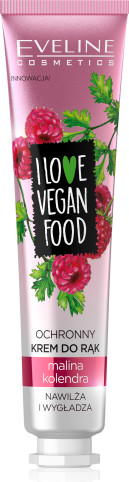 Eveline I Love Vegan Food Hand Cream Malina & Kolendra 50ml