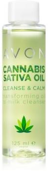 Avon Avon Cannabis Sativa Oil emulsja oczyszczająca do twarzy z olejkiem konopnym 125 ml