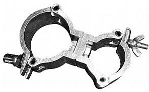 EUROLITE TPC-50/35 Podwójny hak do kratownicy, silver 59006925