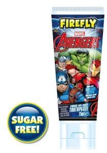 FIREFLY Pasta do zębów z fluorem Avengers 75ml 3 +