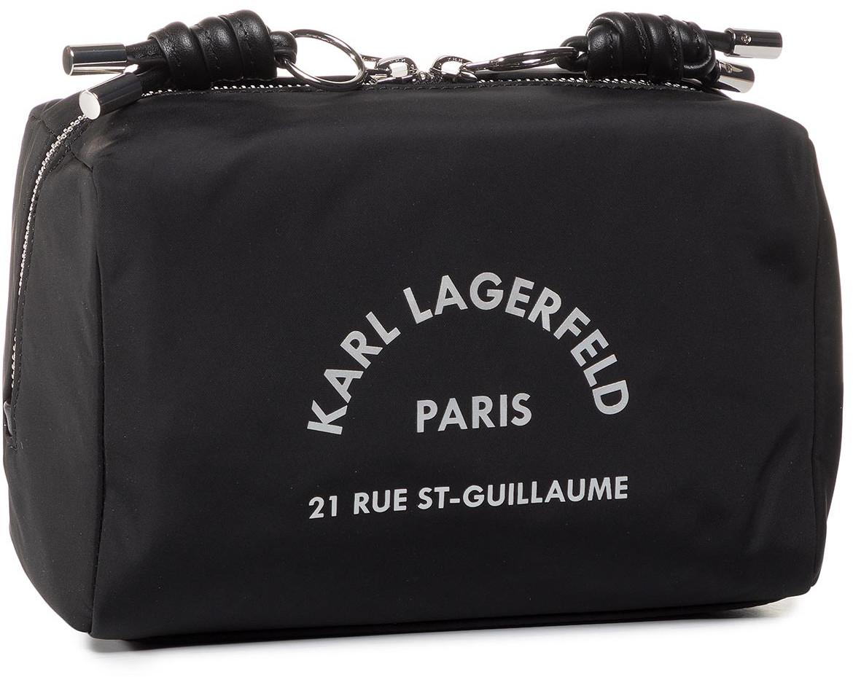 Karl Lagerfeld Kosmetyczka KARL LAGERFELD - 201W3220  Black 999