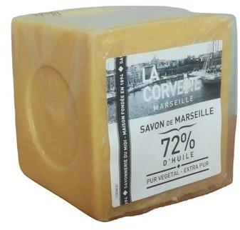 LA CORVETTE Mydło marsylskie extra pur 500g oryginalne mydło marsylskie extra pur 72% olejów roślinnych LC6