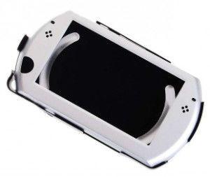 Aluminiowa osłona etui na Sony PlayStation Portable PSP Go (srebrna)