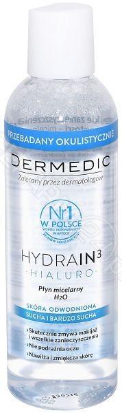 BIOGENED Dermedic Hydrain 3 Hialuro płyn micelarny 200 ml