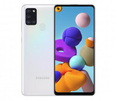 Samsung Galaxy A21s 32GB Dual Sim Biały