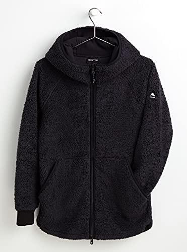 Burton Damska bluza z kapturem Minxy czarny True Black Sherpa 38 22711100002
