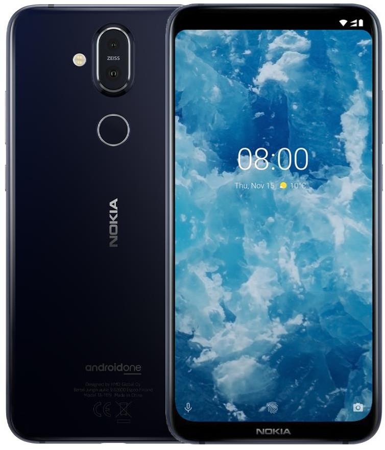 Nokia 8.1 64GB Dual Sim Granatowy