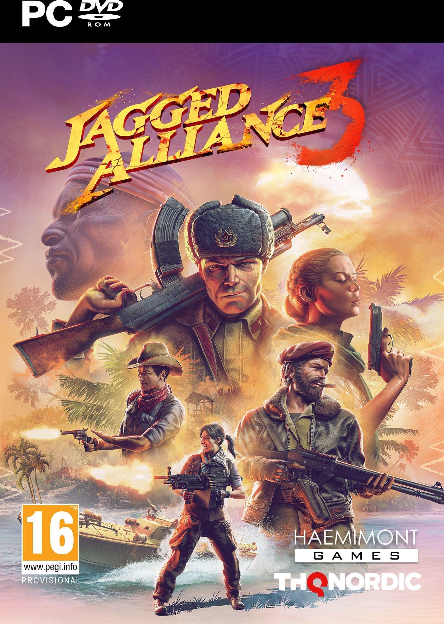 Jagged Alliance 3 (GRA PC)