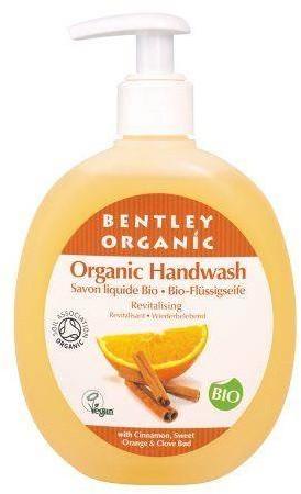 Bentley Organic ODŻYWIAJĄCE Mydło w Płynie z Cynamonem, Słodką Pomarańczą i Goździkami, 250 ml