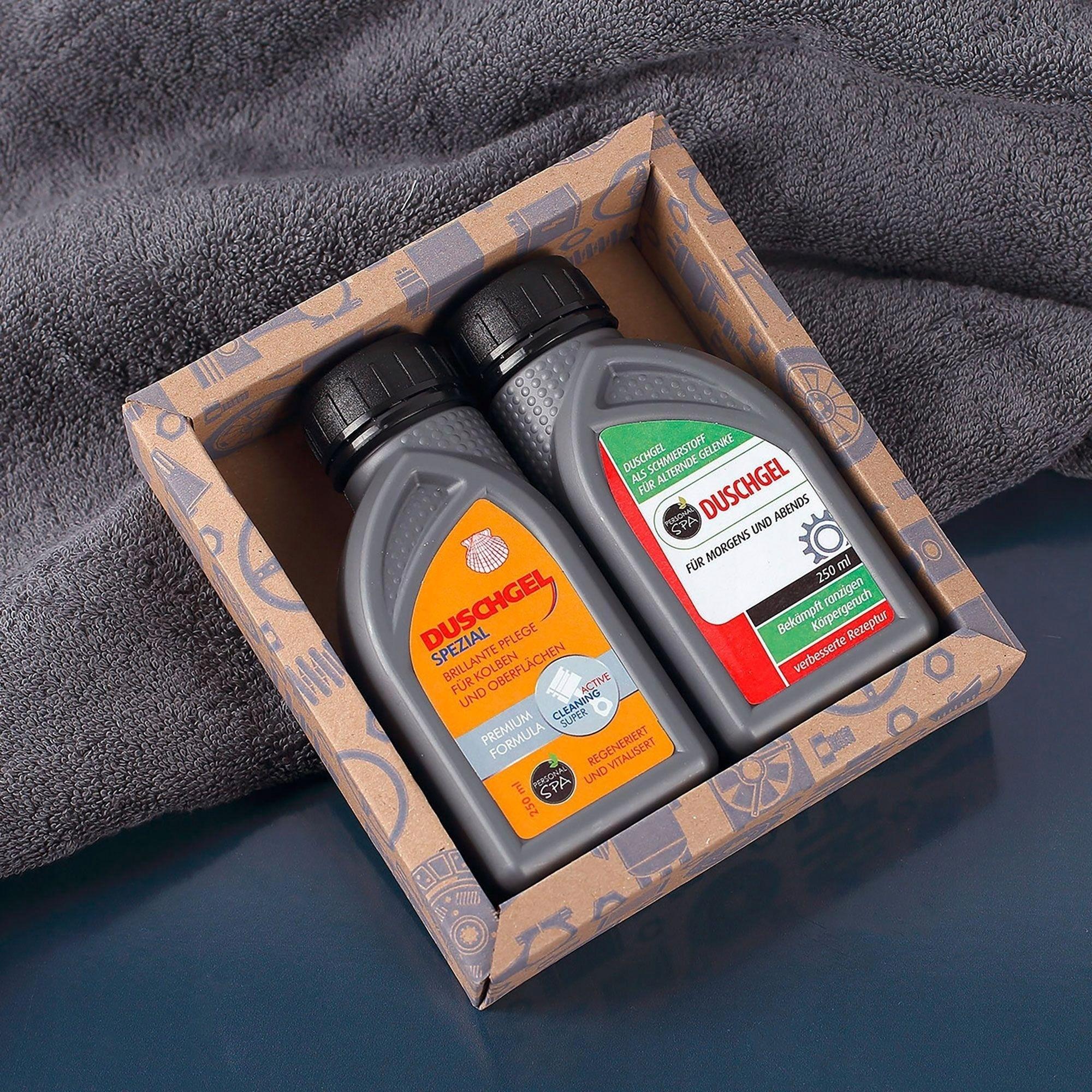 Olej silnikowy - żel pod prysznic, 2x250ml Louis