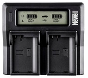 Newell Ładowarka LCD Dual Charger do akumulatorów NP-FZ100