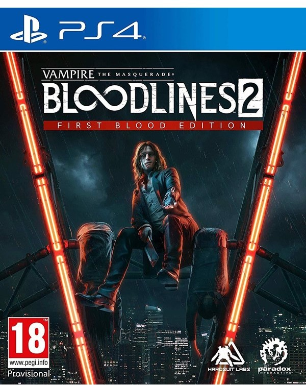 Vampire: The Masquerade - Bloodlines 2 - First Blood Edition (GRA PS4)