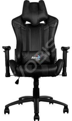 Aerocool FOTEL GAMINGOWY AEROCOOL AC120-B BLACK AEROAC120-B