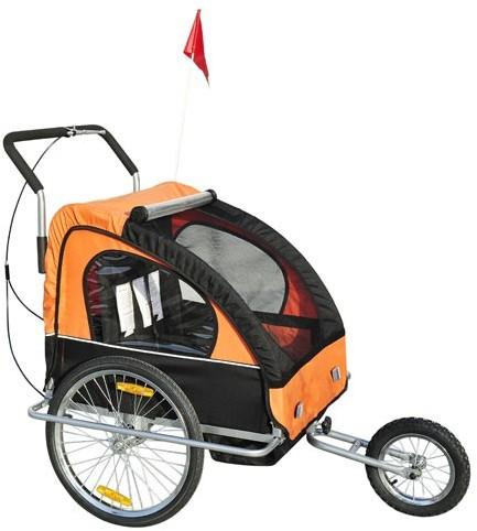 Homcom JOGGER 2w1 pomarańczowa 4250871207336