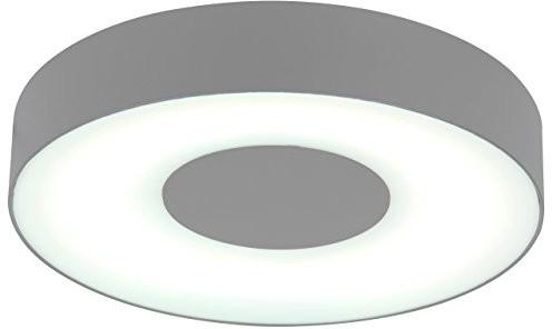 Eco Light ECO Light nowoczesna lampa zewnętrzna do ściany lub sufitu ublo IP54, okrągła, średnica 19,3cm, srebrny 3481S Si 3481 S SI