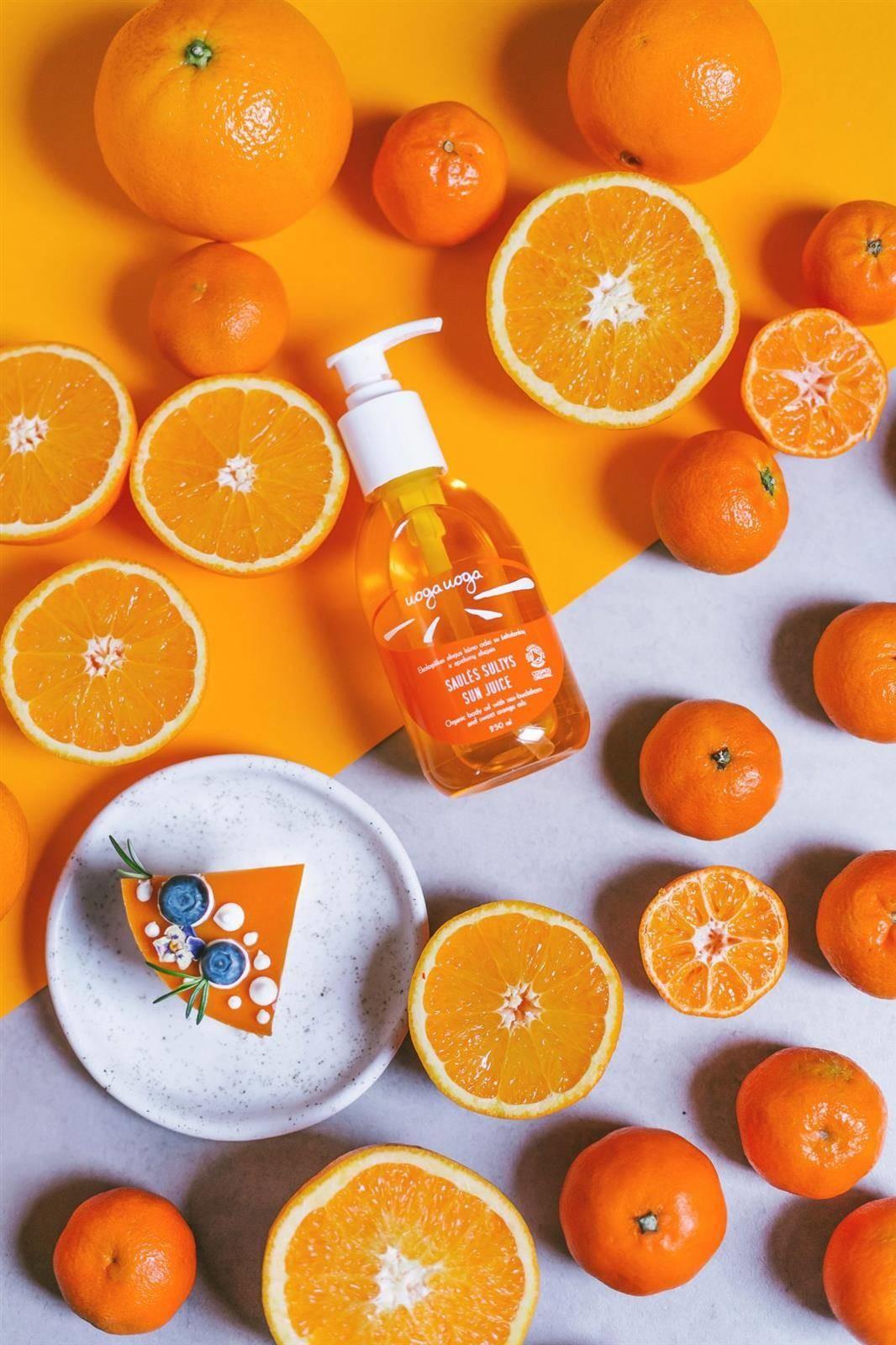 UOGA UOGA Uoga Uoga, Organiczny olejek do ciała z rokitnikiem i olejkiem ze słodkiej pomarańczy, 250ml