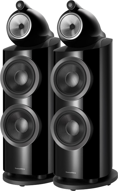 B&W 800 D3 czarny