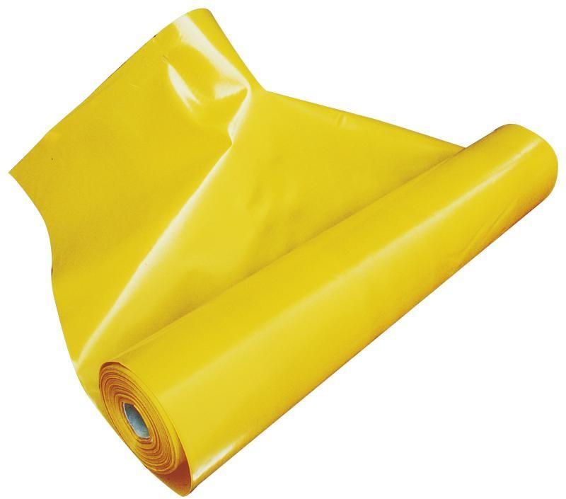 BAUFOL Żółta folia paroizolacyjna Baufol 2m x 25mb - 0,2mm baufol_zolta_2x25