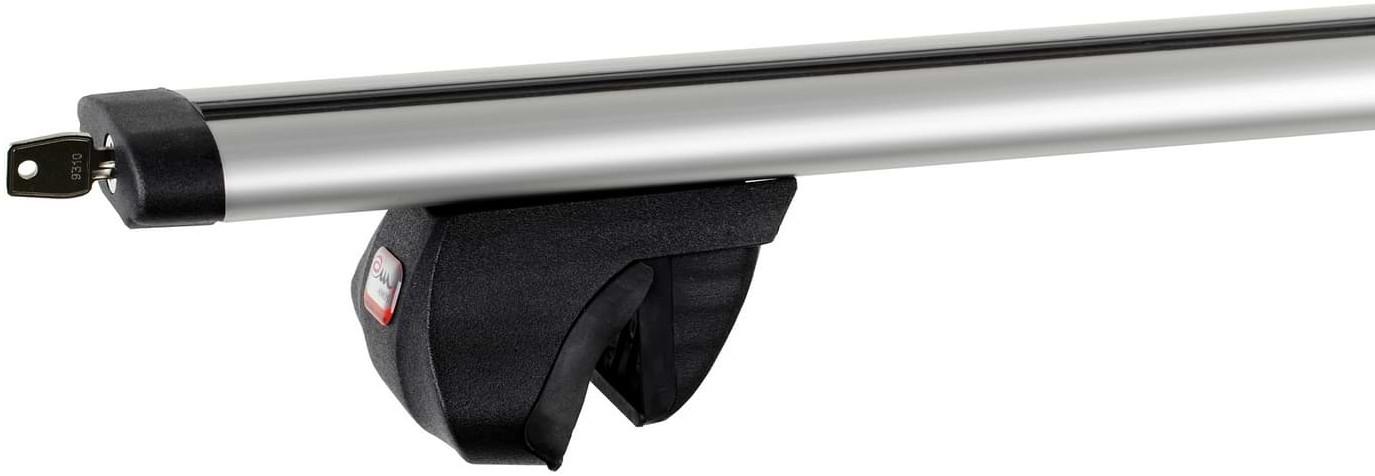 Amos Bagażnik bazowy na dach belki aluminiowe 1.3 Dynamic łapy Alfa ZABEZPIECZENIE 1387-uniw