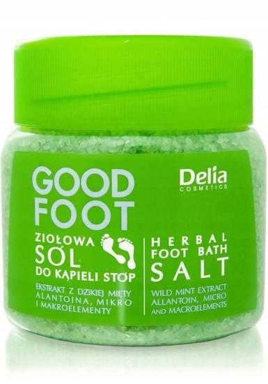 Delia Sól do kąpieli stóp 570g Zmiękcza Regeneruje