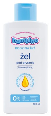 Bambino Rodzina Żel pod prysznic 400 ml | SZYBKA WYSYŁKA!