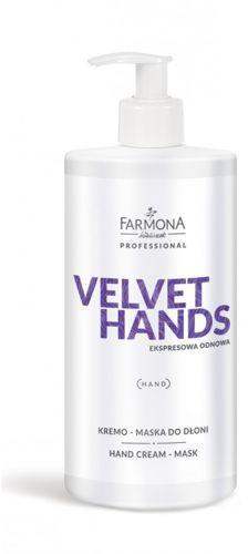 FARMONA PROFESSIONAL FARMONA Velvet Hands Kremo-Maska Do Dłoni 500ml EKS2002