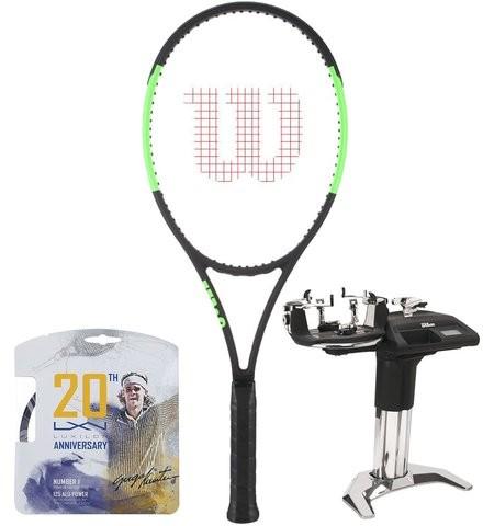 Wilson Rakieta tenisowa Blade 98 (18x20) Countervail + naciąg + usługa serwisowa (WRT73311)